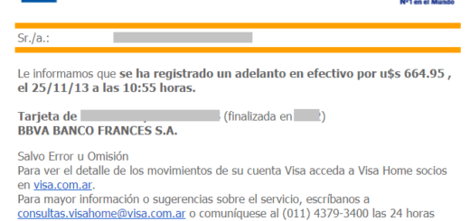 Pedir online el pin de tarjetas visa para operar en - Habilitar visa debito para el exterior ...