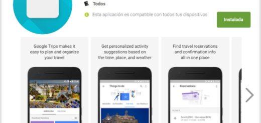 Google Trips #GoogleTrips App Android iOS