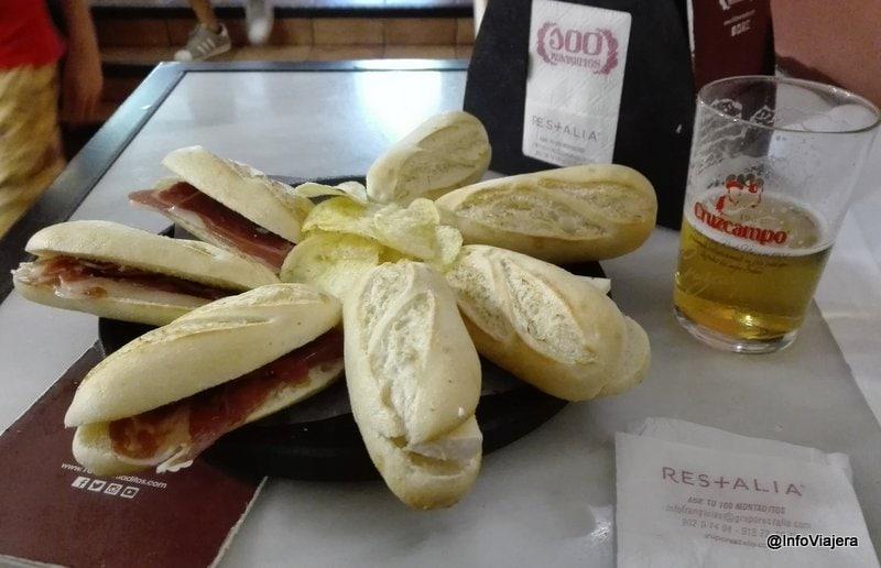 tapas_espana_cien_montaditos