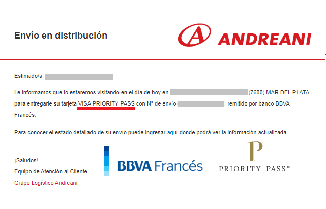 El Banco Bbva Francés Renueva La Priority Pass De Visa La Que Dura