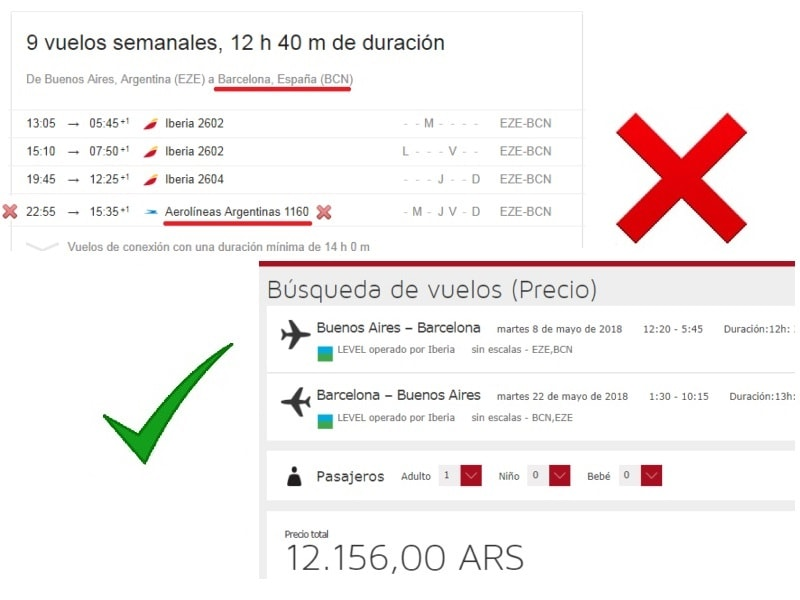 El mismo d a nos toc anunciar vuelos low cost a barcelona for Vuelos barcelona paris low cost