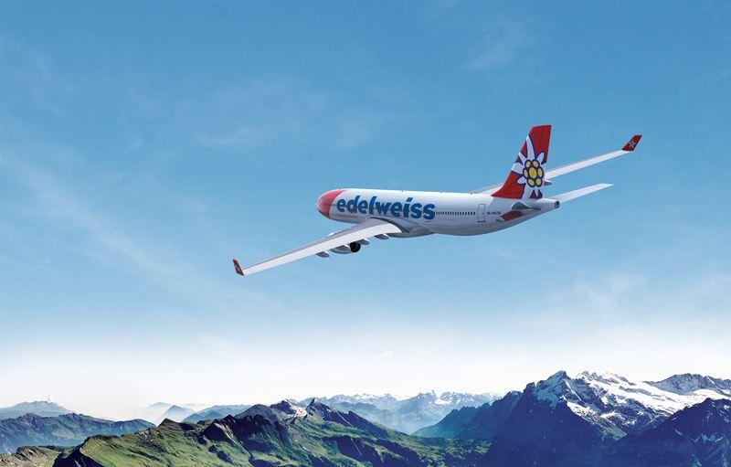 Resultado de imagen de Edelweiss Air