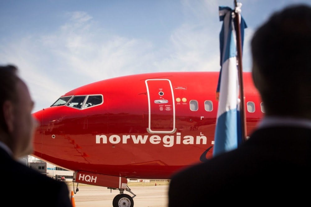 Resultado de imagen para Norwegian Air Argentina