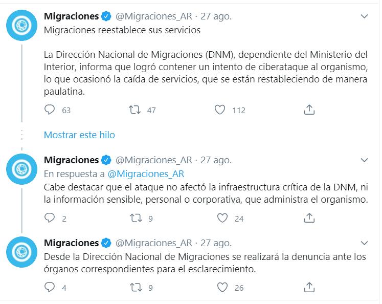 Migraciones, recién hackeada, arranca hoy con la DDJJ online para salir y entrar del país – Info Viajera